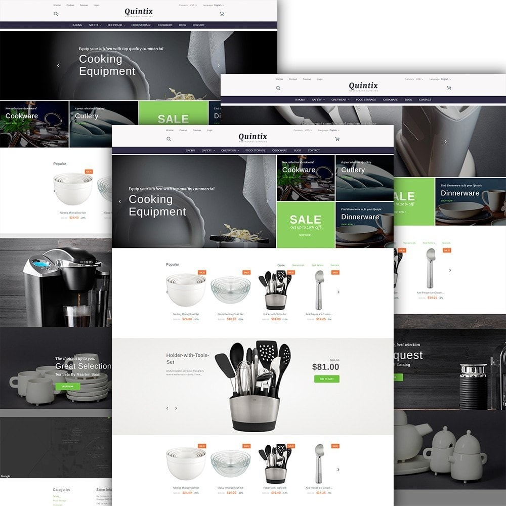 theme - Искусство и Культура - Quintix - Restaurant Supplies - 2