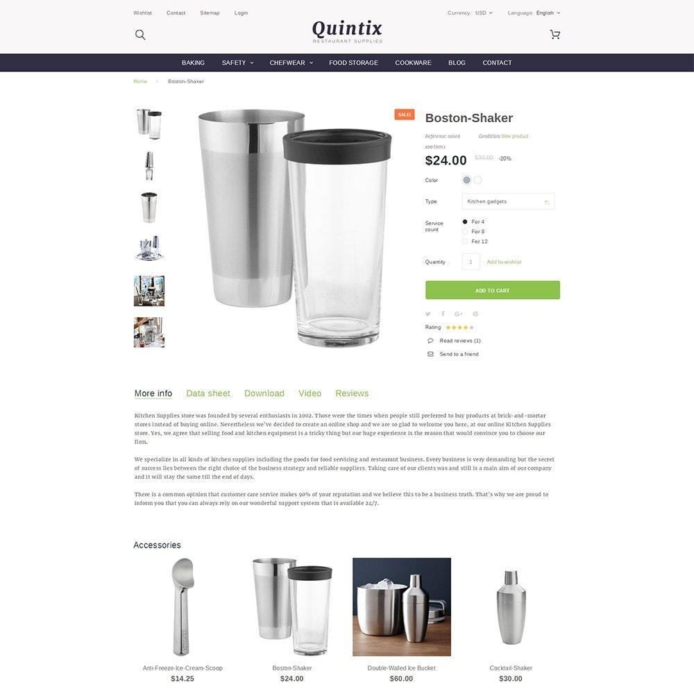 theme - Искусство и Культура - Quintix - Restaurant Supplies - 3
