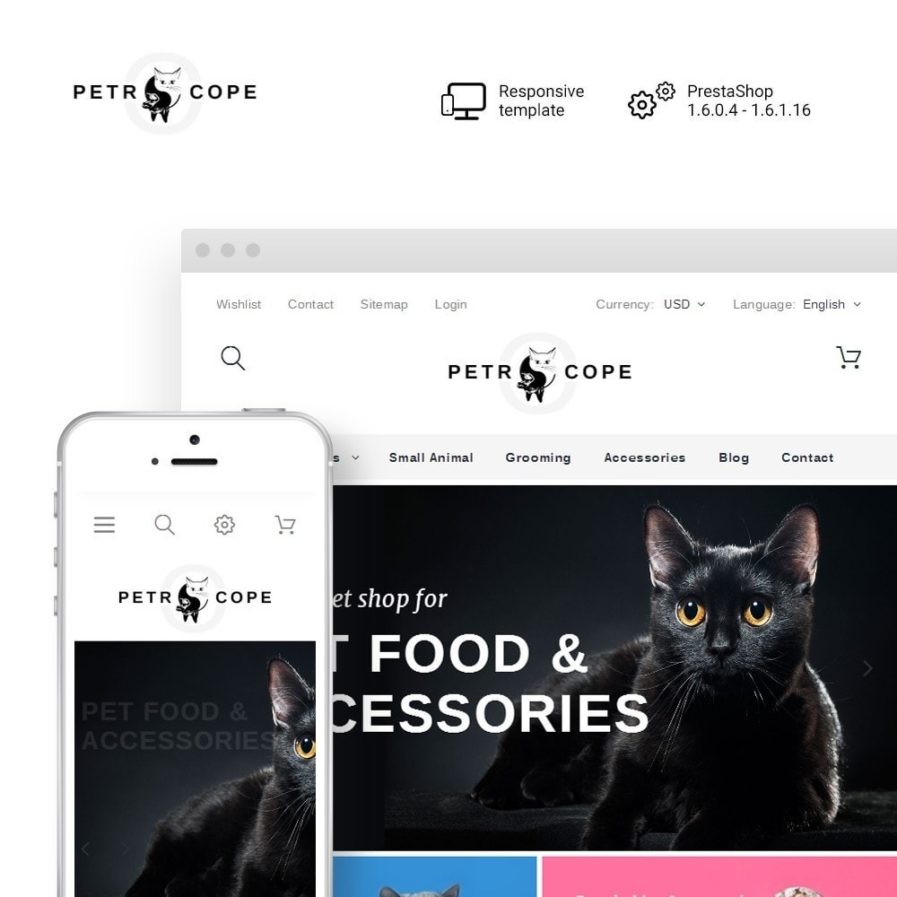 theme - Animals & Pets - Petrocope - 1