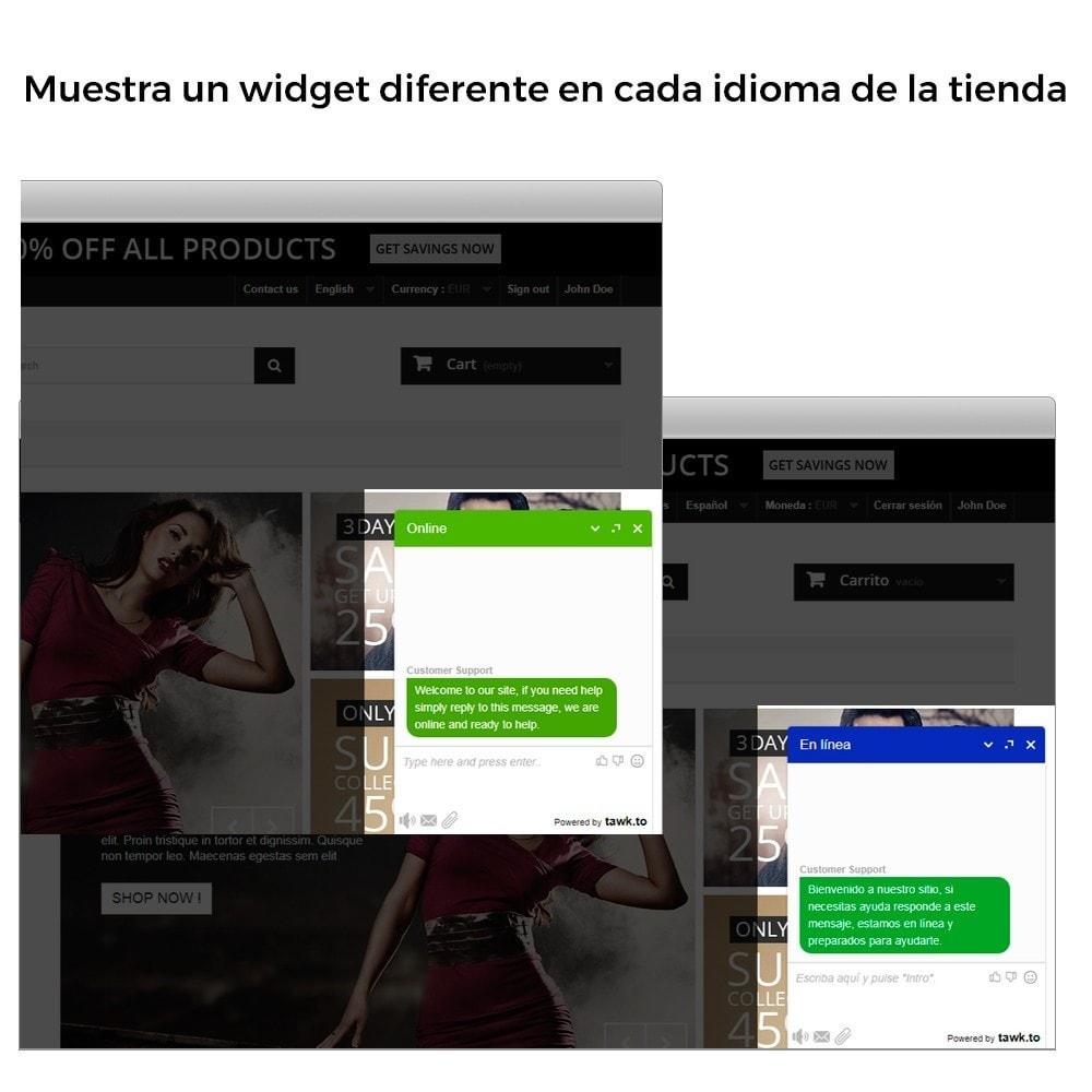 module - Asistencia & Chat online - Tawk.to - El Mejor Chat Gratuito - Multilenguaje - 4