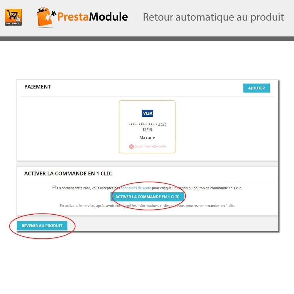 module - Paiement par Carte ou Wallet - One Click Order - Achat en un clic - 9