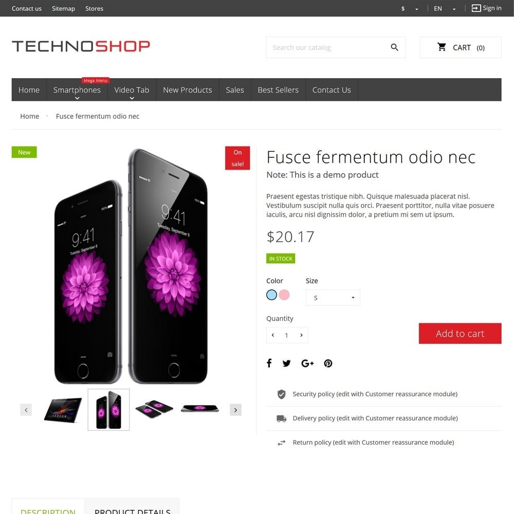 theme - Elektronica & High Tech - TechnoShop - 8