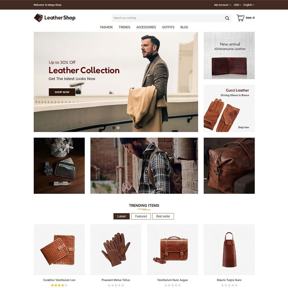 theme - Moda & Calzature - Leather Shop - 2