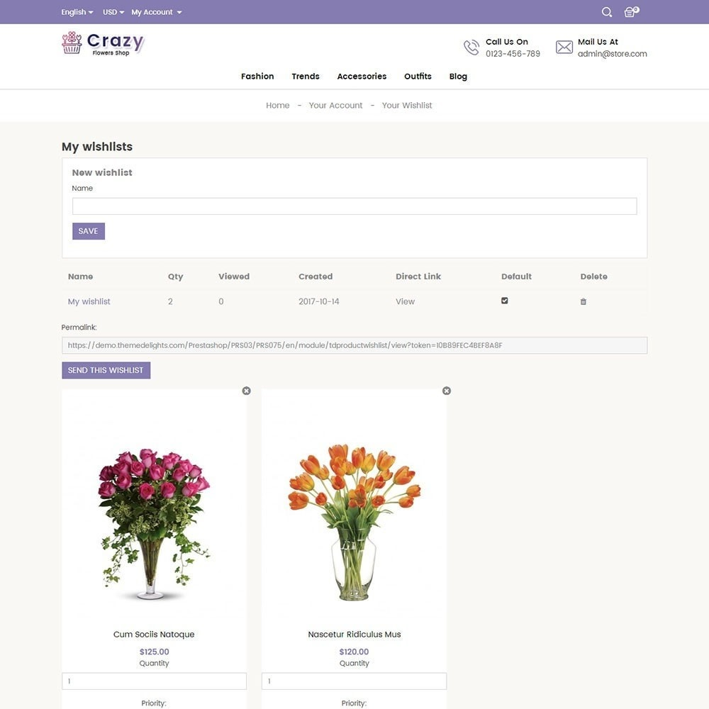 theme - Gifts, Flowers & Celebrations - Crazy Flower Store - 8