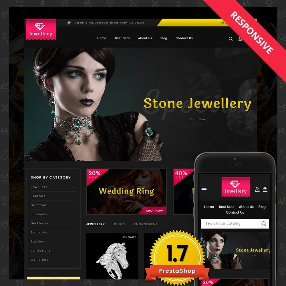 theme - Jewelry & Accessories - Jewellery Store - 1