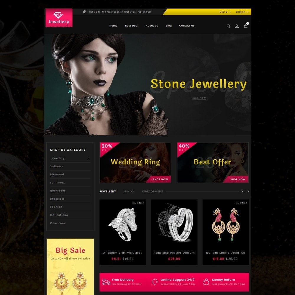 theme - Jewelry & Accessories - Jewellery Store - 2