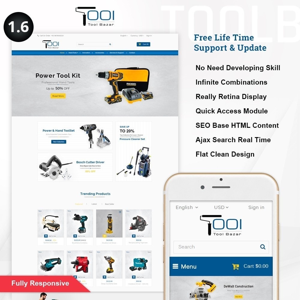 theme - Coches y Motos - Tools Shop - 1