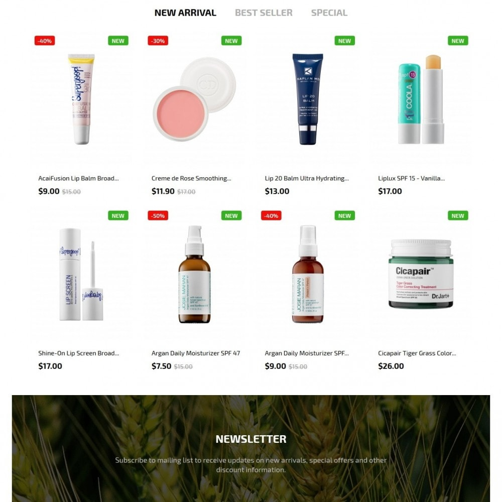 theme - Salute & Bellezza - Green Cosmetics - 3
