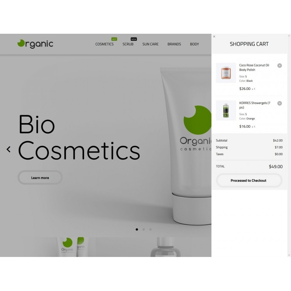 theme - Health & Beauty - Organic Cosmetics - 3