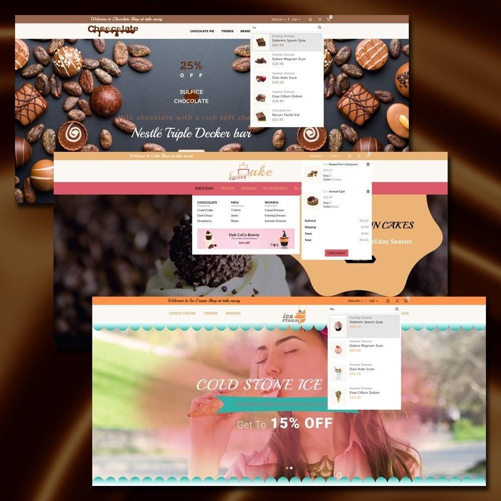 theme - Cibo & Ristorazione - Dessert Store - 3