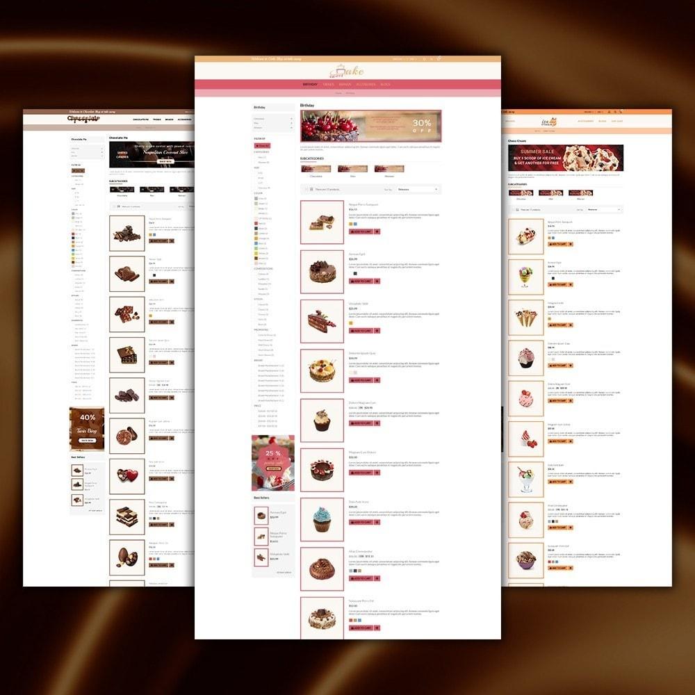theme - Cibo & Ristorazione - Dessert Store - 5
