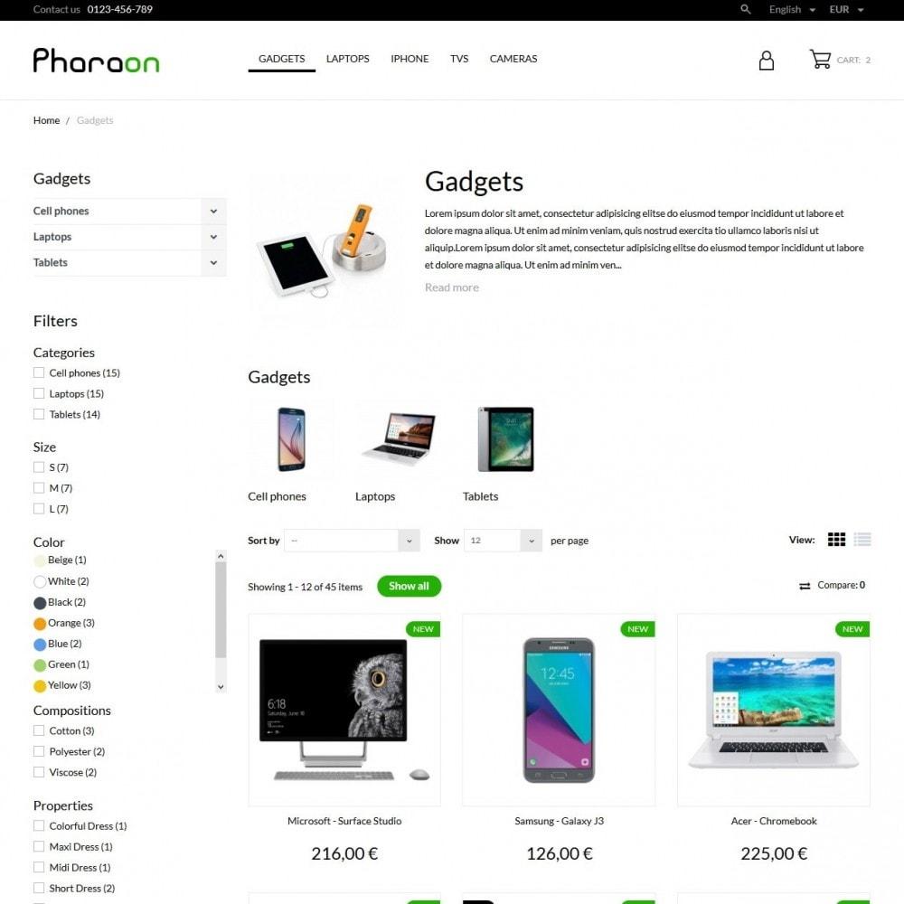 theme - Elektronica & High Tech - Pharaon - High-tech Shop - 5