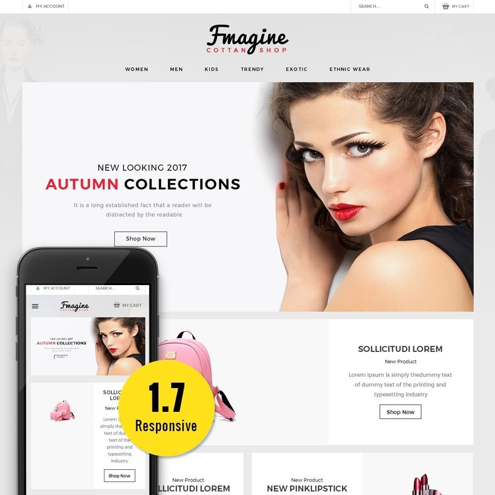 theme - Fashion & Shoes - Fmagine Store - 1