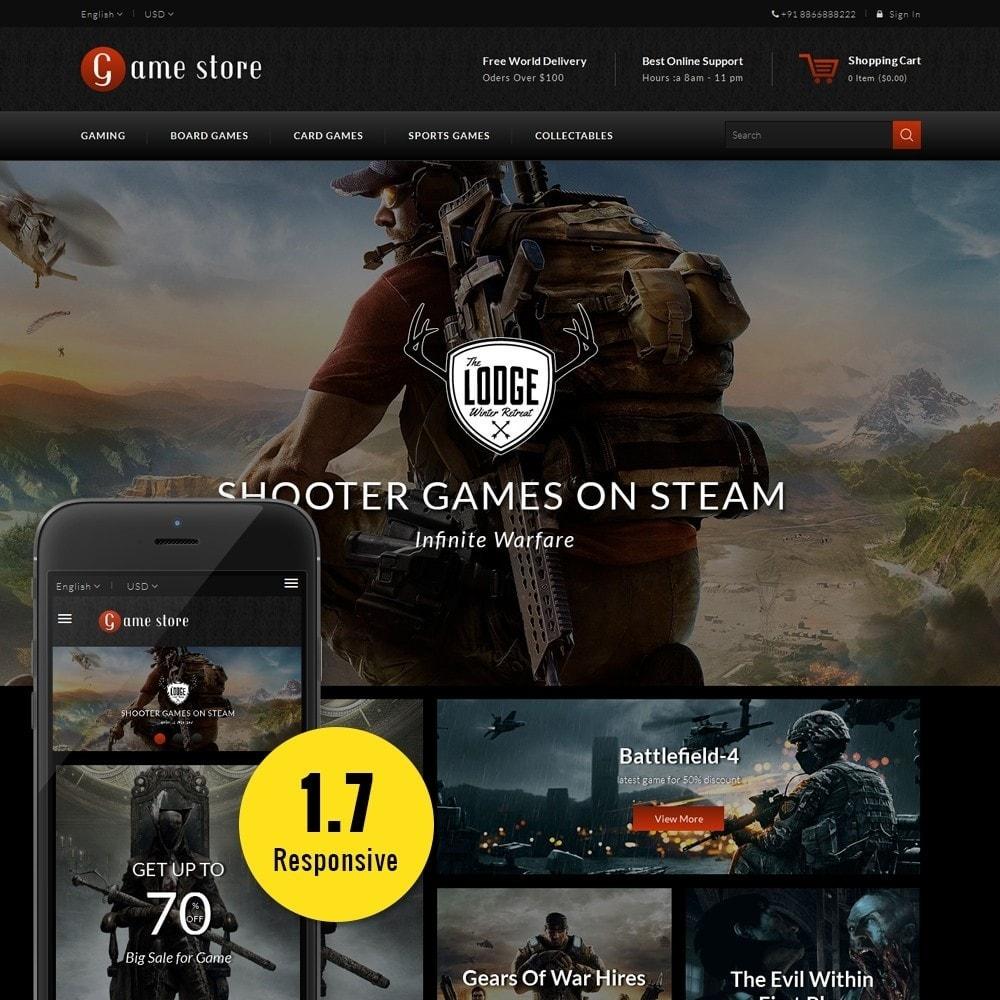 theme - Desporto, Actividades & Viagens - GameStore - 1