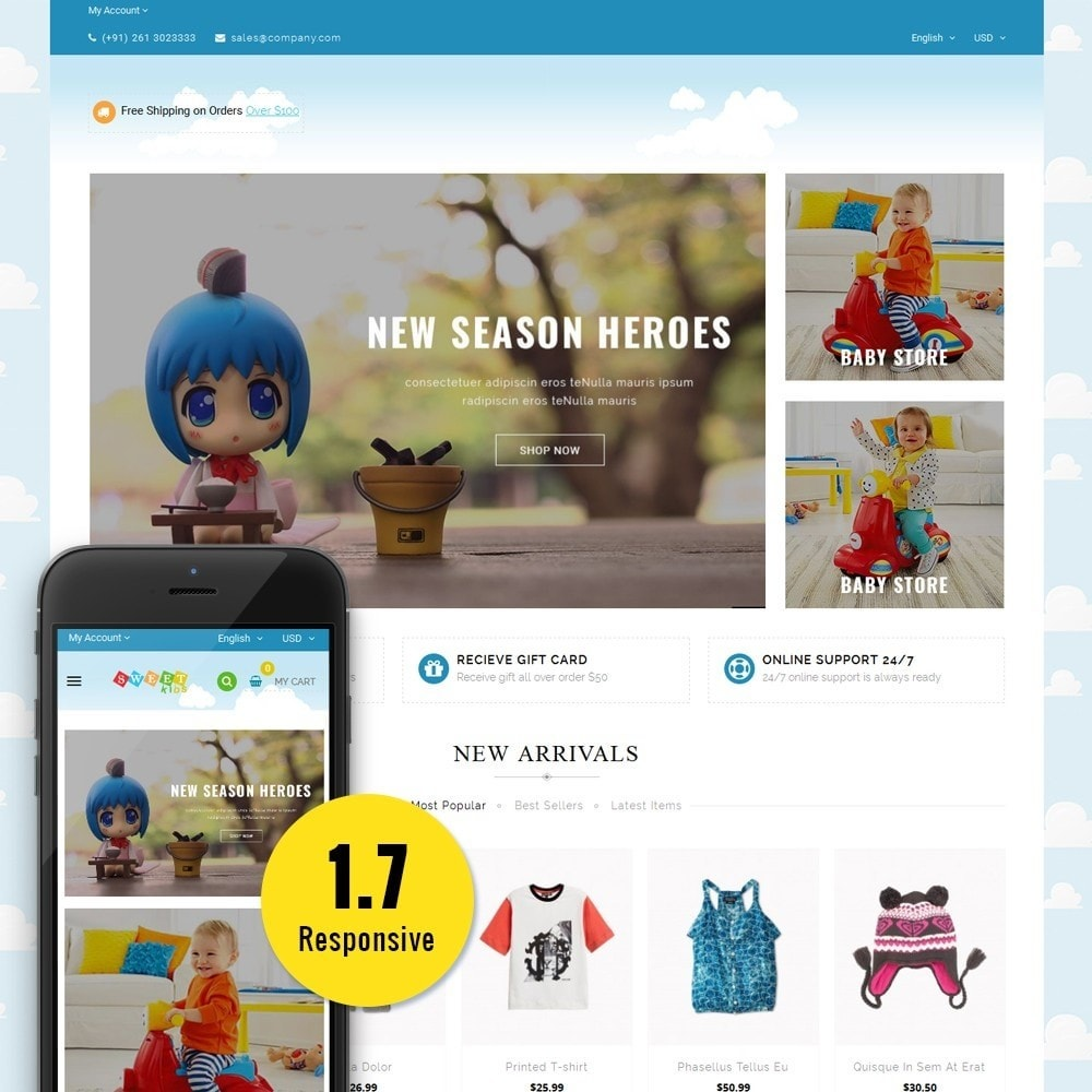 theme - Enfants & Jouets - Kids Store - 1