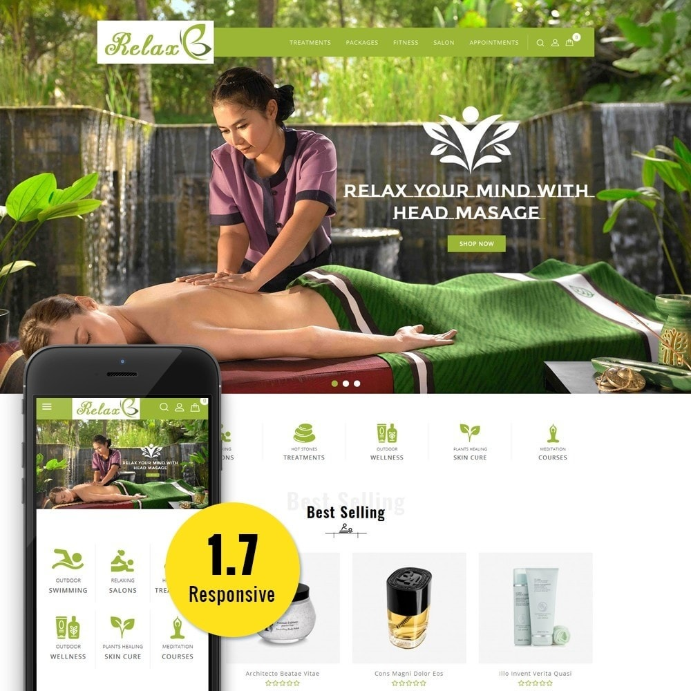 theme - Salute & Bellezza - Relax Spa Store - 1