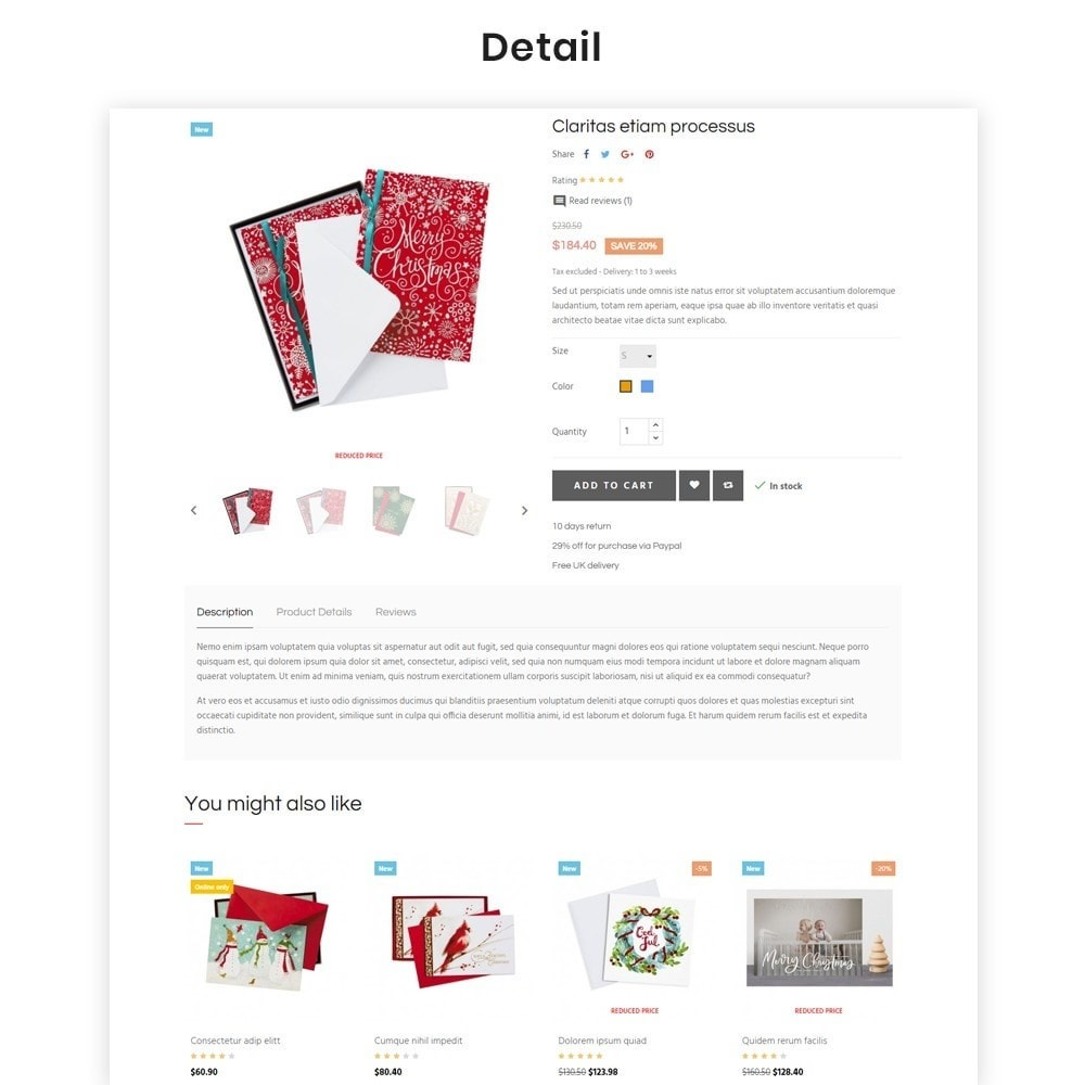theme - Cadeaus, Bloemen & Gelegenheden - Leo Warm Xmas - 5