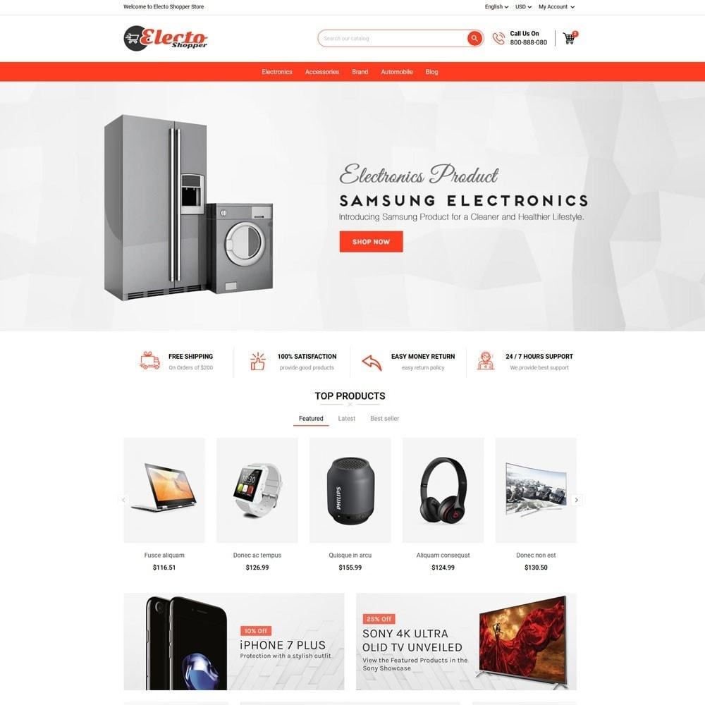 theme - Elektronika & High Tech - Electo Shopper Store - 2
