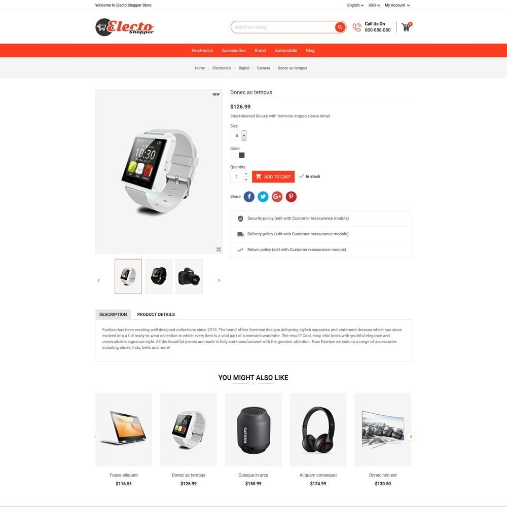 theme - Elektronika & High Tech - Electo Shopper Store - 5