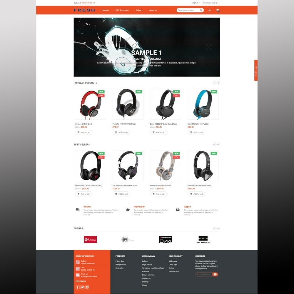 theme - Elektronika & High Tech - Fast Fresh electronics store - 13