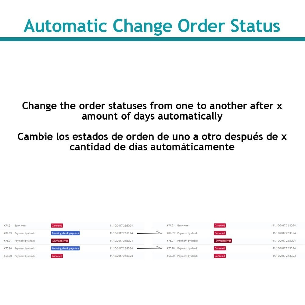 module - Order Management - Change order status automatically - 1