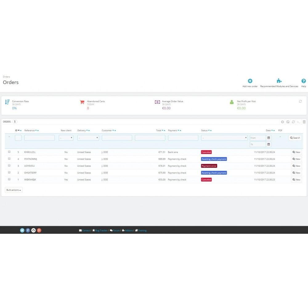module - Gestione Ordini - Change order status automatically - 3