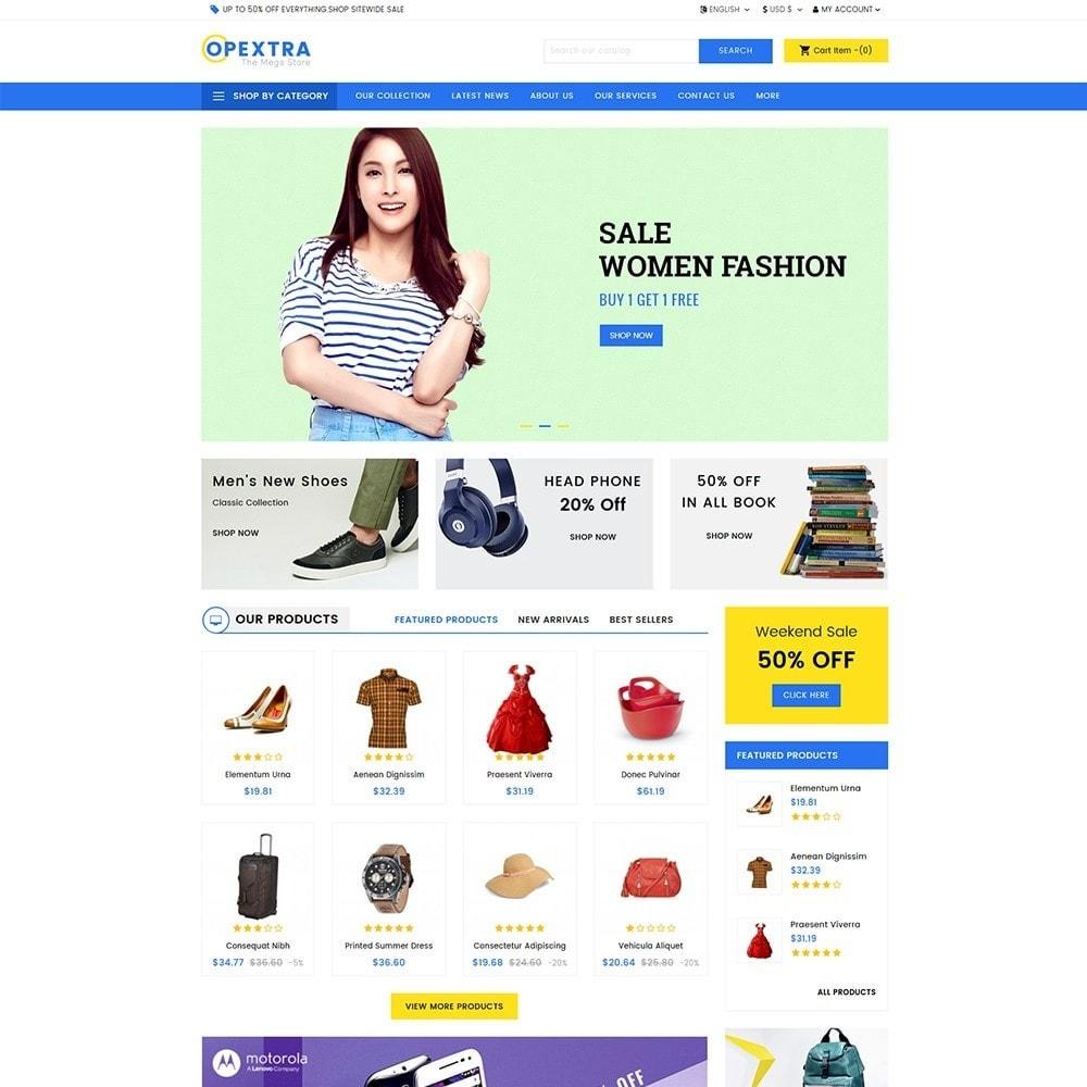 theme - Moda & Calzature - Opextra Mega Store - 2