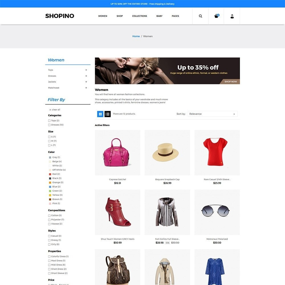 theme - Мода и обувь - Shopimo Fashion Store - 3