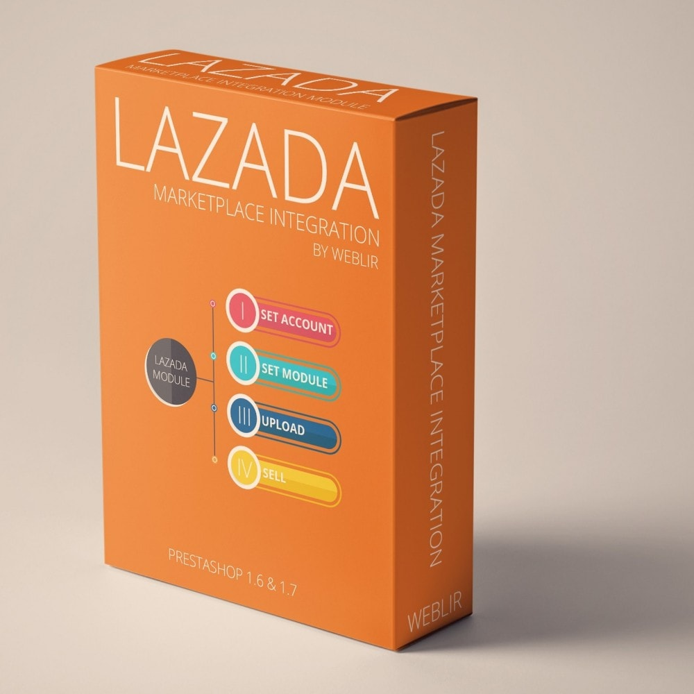 Lazada Marketplace Integration - PrestaShop Addons