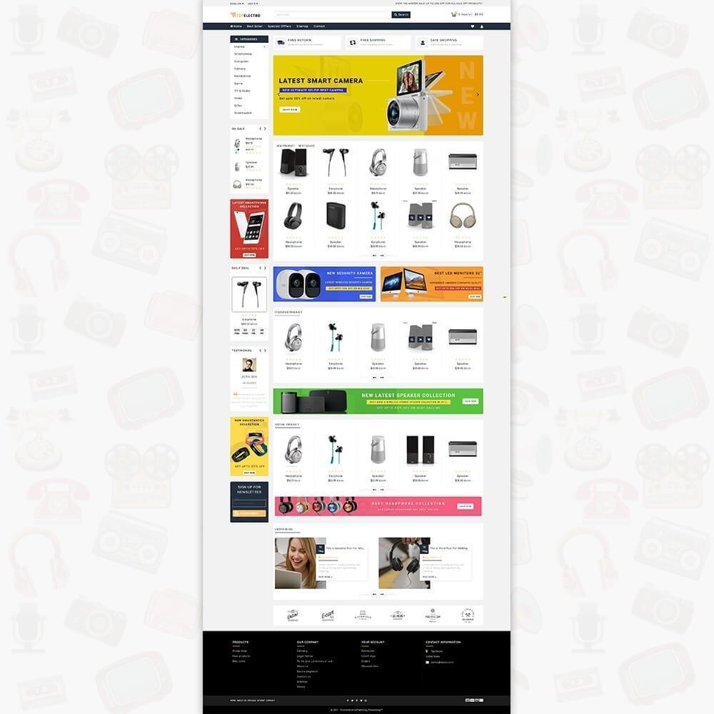 theme - Elektronik & High Tech - TopElectro Electronics Store - 2