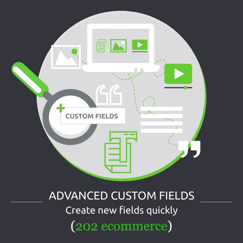 module - Additional Information & Product Tab - Advanced Custom Fields : create new fields quickly - 1