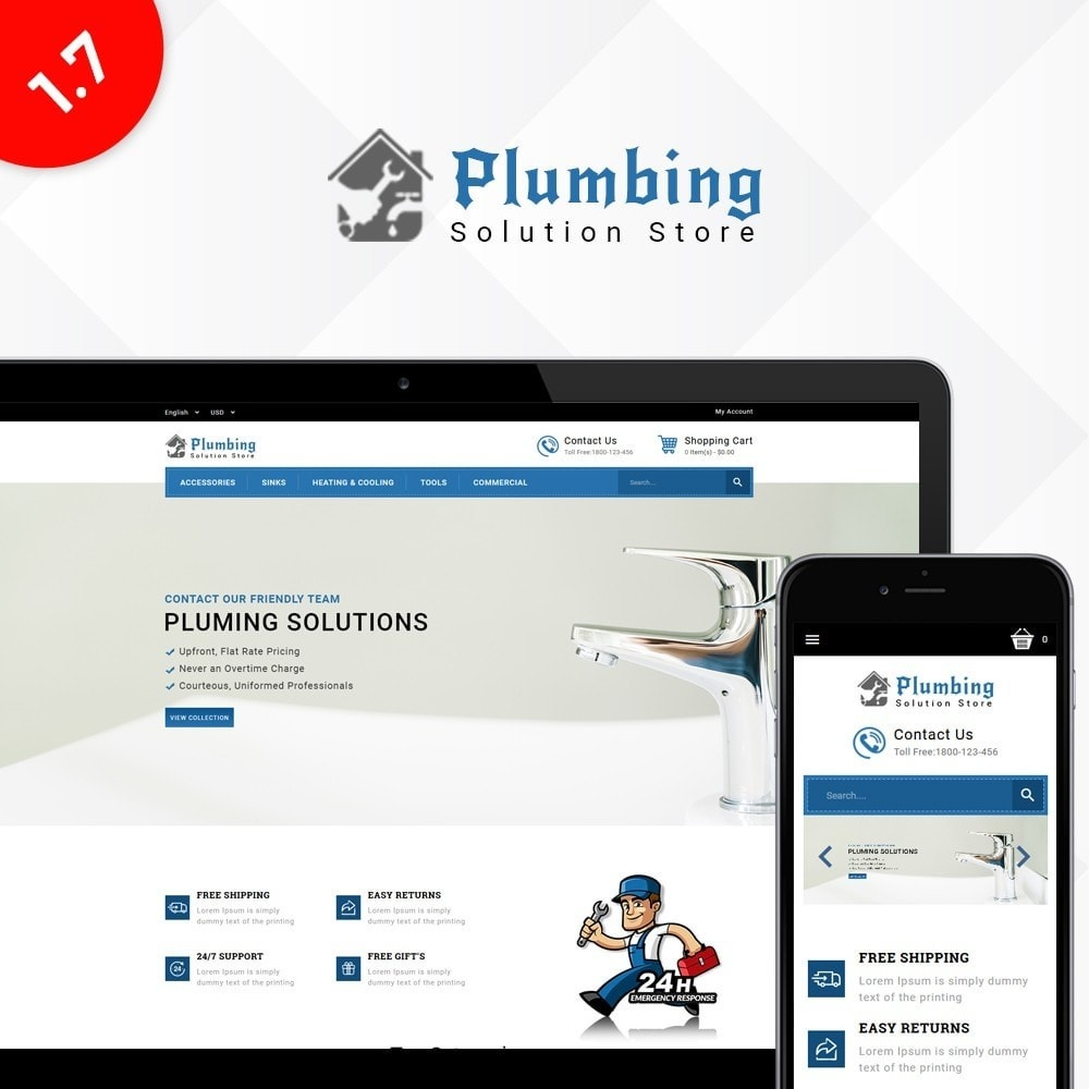 theme - Maison & Jardin - Plumbing Solution Store - 1