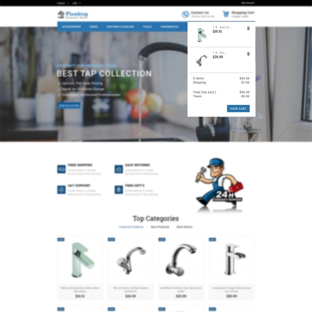 theme - Casa & Jardins - Plumbing Solution Store - 6