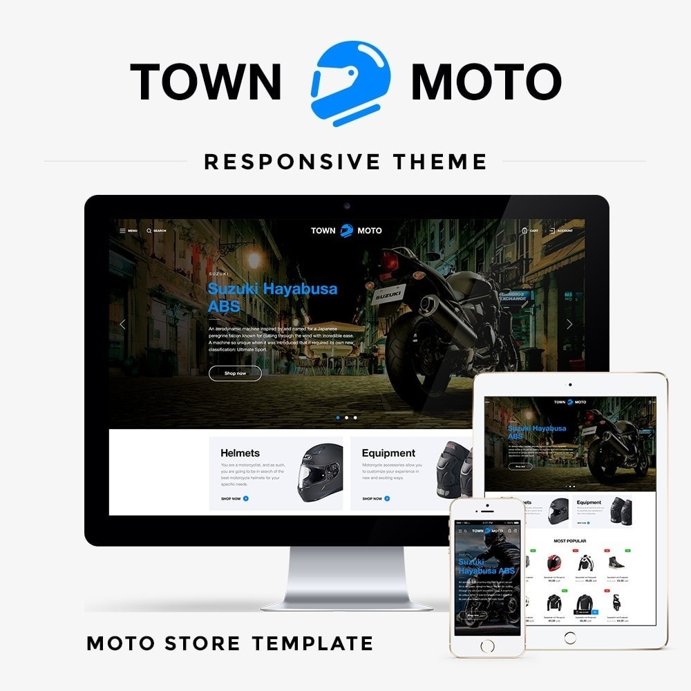 theme - Coches y Motos - Town Moto - 1