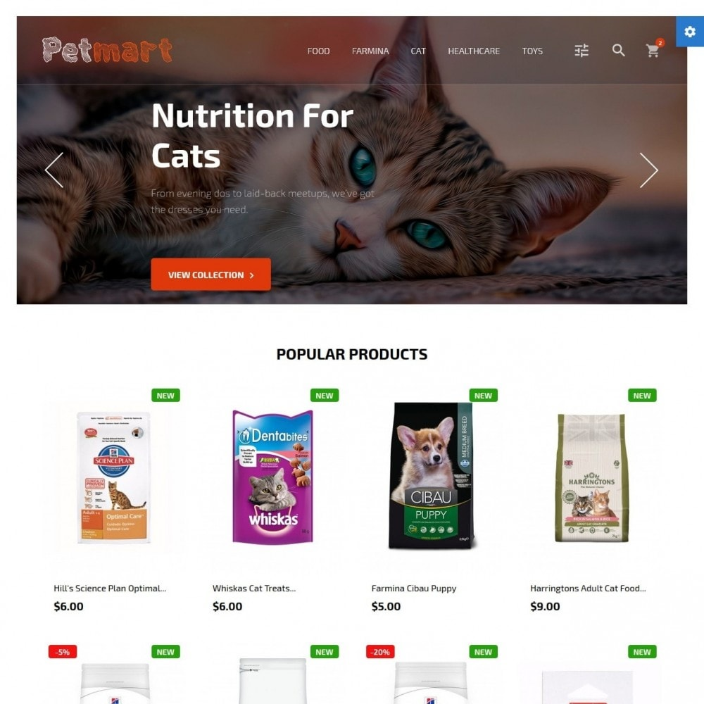 theme - Animaux - Petmart - 2