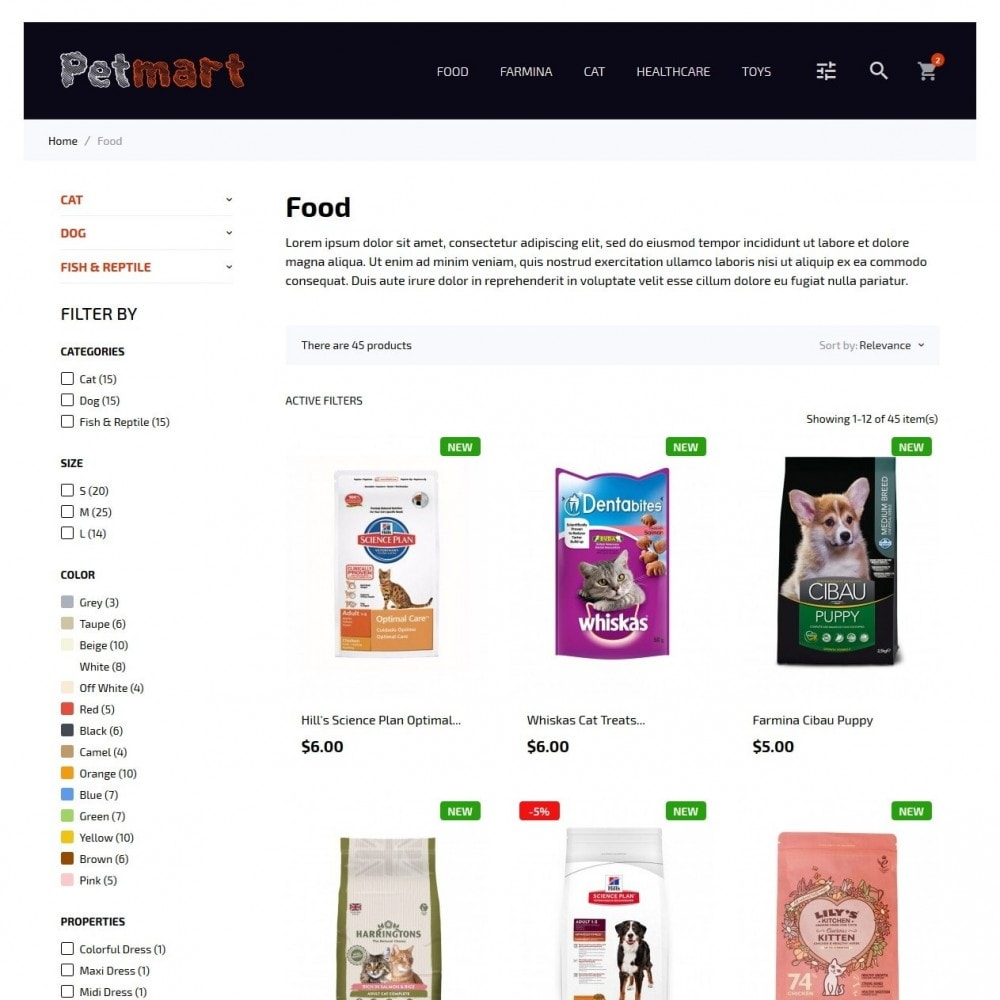 theme - Animaux - Petmart - 5