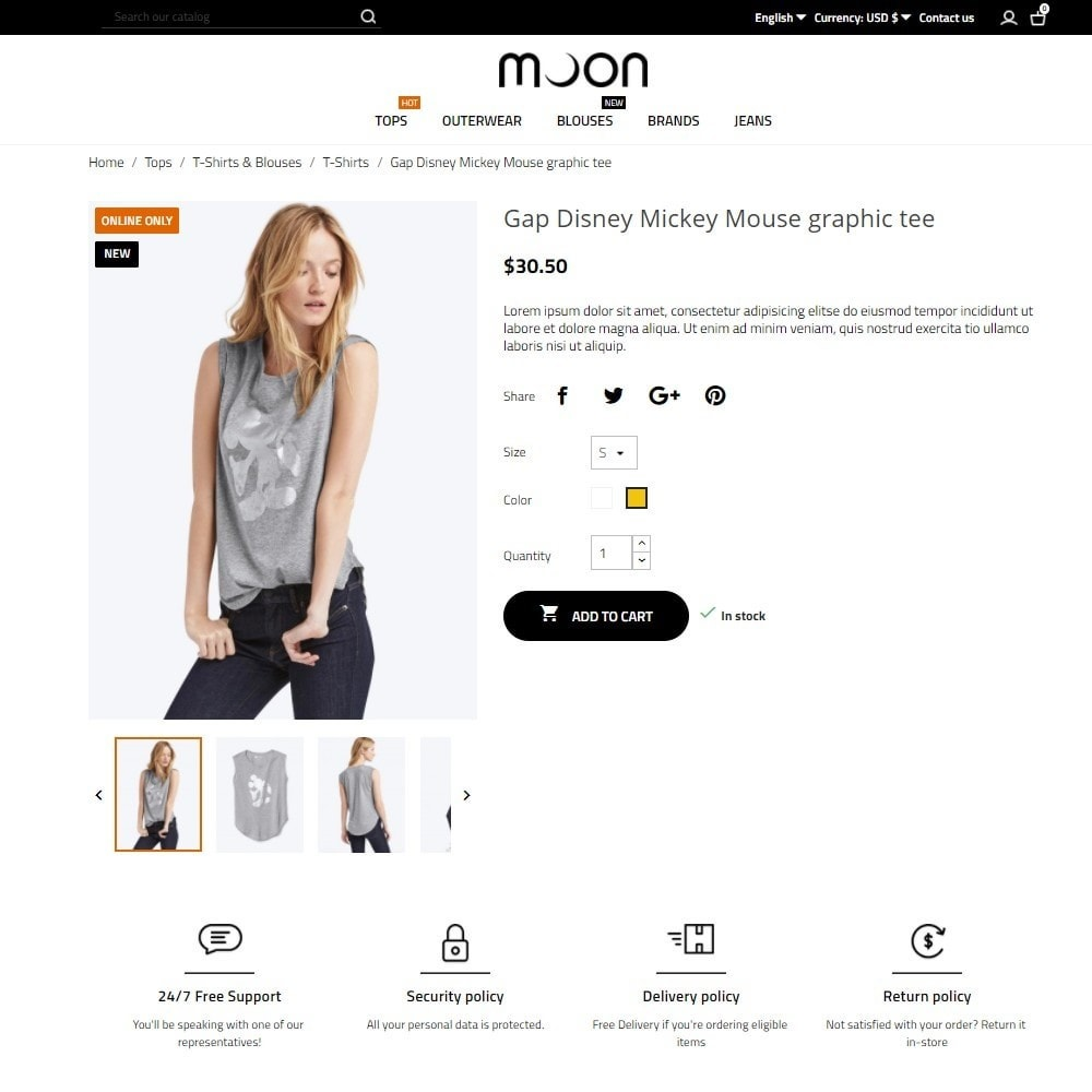 theme - Mode & Schoenen - Moon Fashion Store - 5