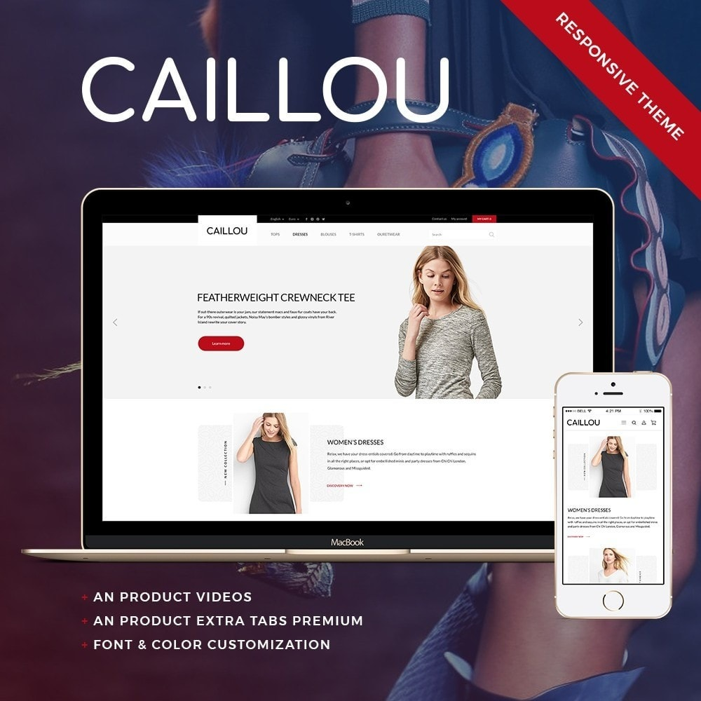 theme - Mode & Schuhe - Caillou Fashion Store - 1