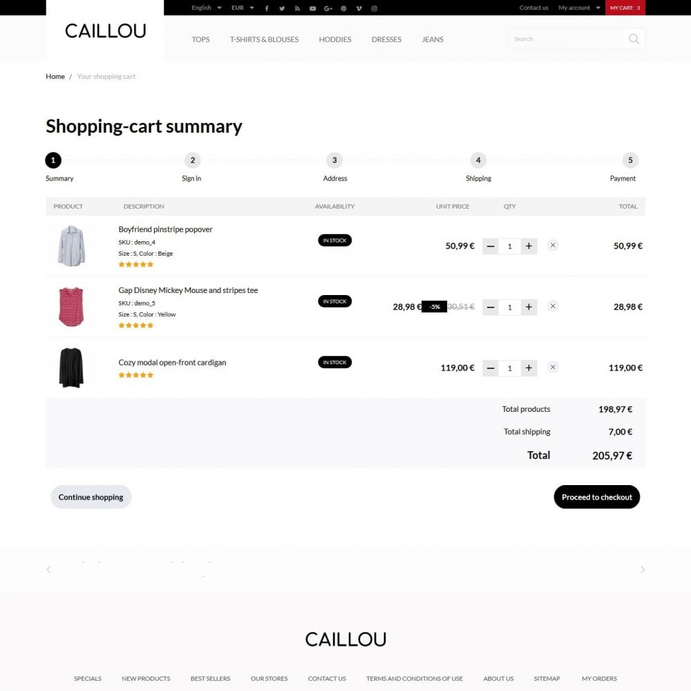 theme - Mode & Schuhe - Caillou Fashion Store - 10