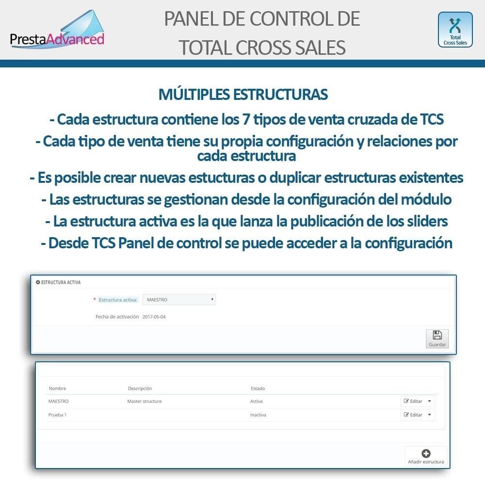 module - Ventas cruzadas y Packs de productos - Total Cross Sales - configuración de ventas cruzadas - 27