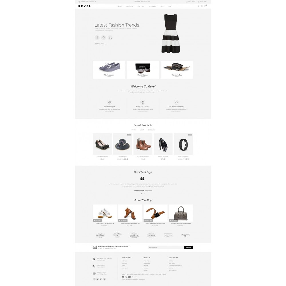 theme - Mode & Chaussures - Revel Fashion Store - 2