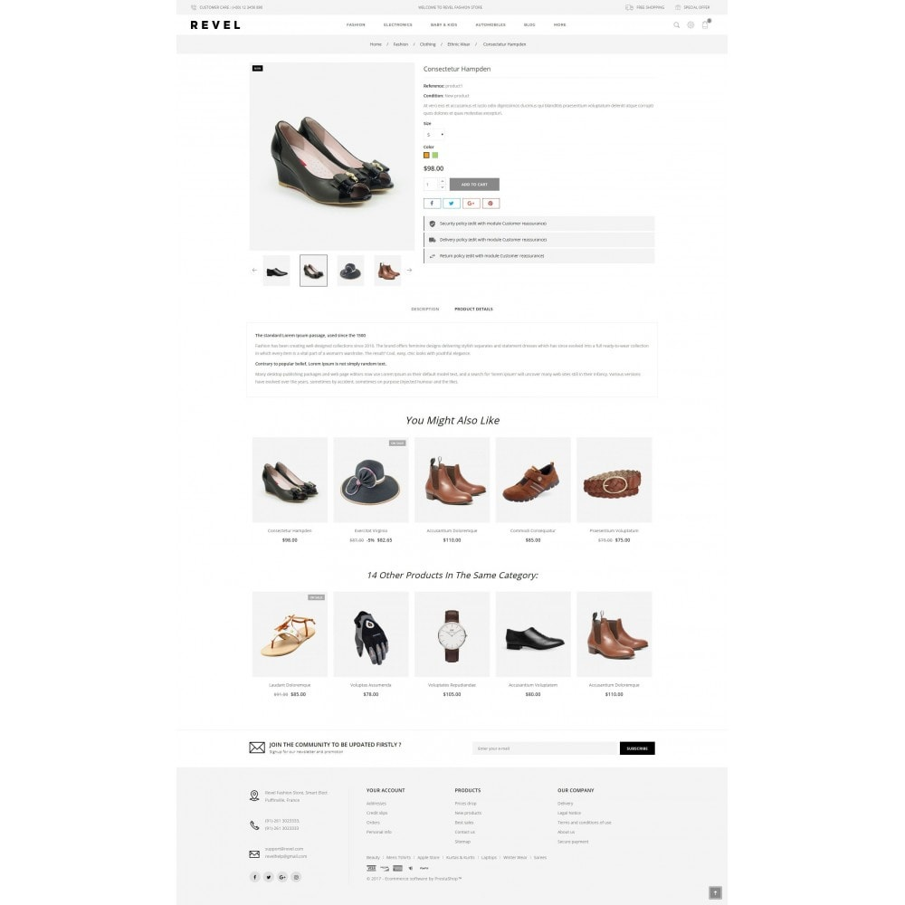 theme - Mode & Chaussures - Revel Fashion Store - 5