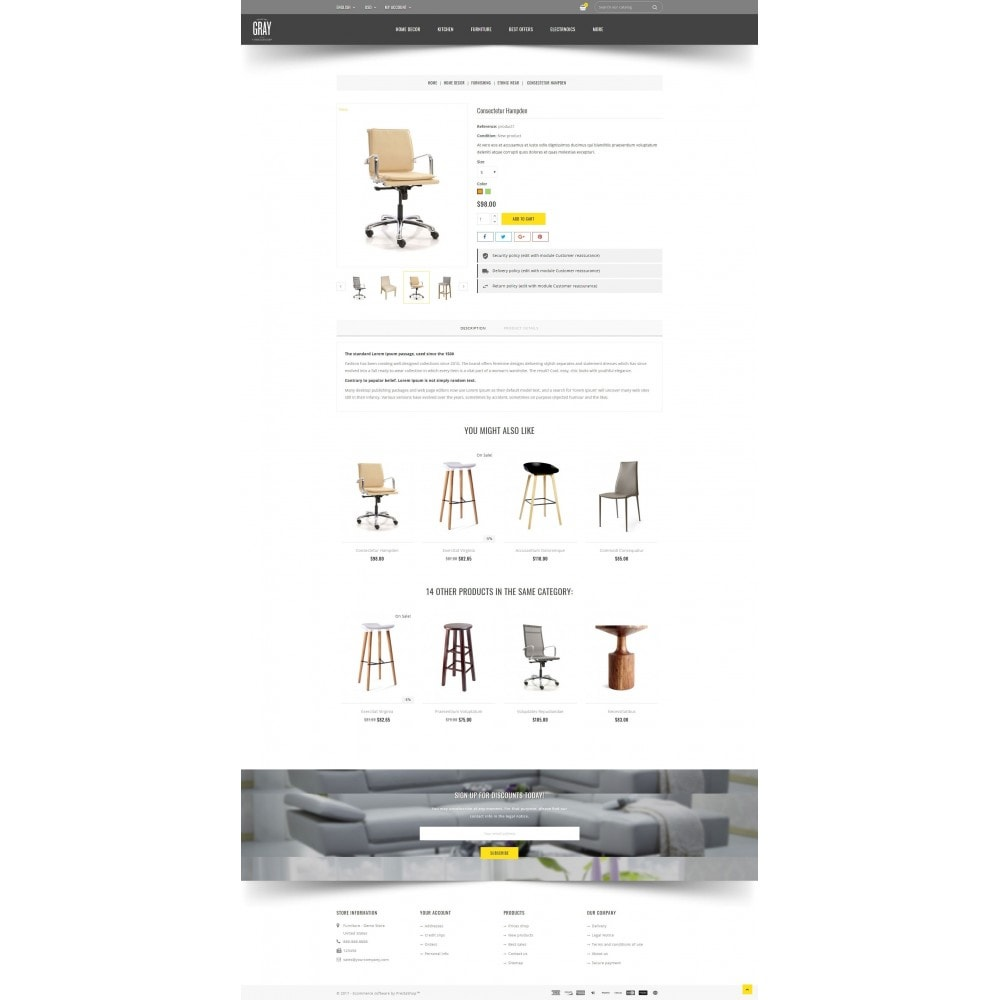 theme - Casa & Giardino - Gray Furniture Store - 5