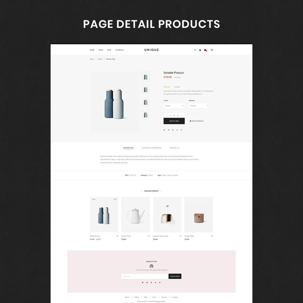 theme - Home & Garden - Unique Store Responsive Multiple Prestashop Theme - 4
