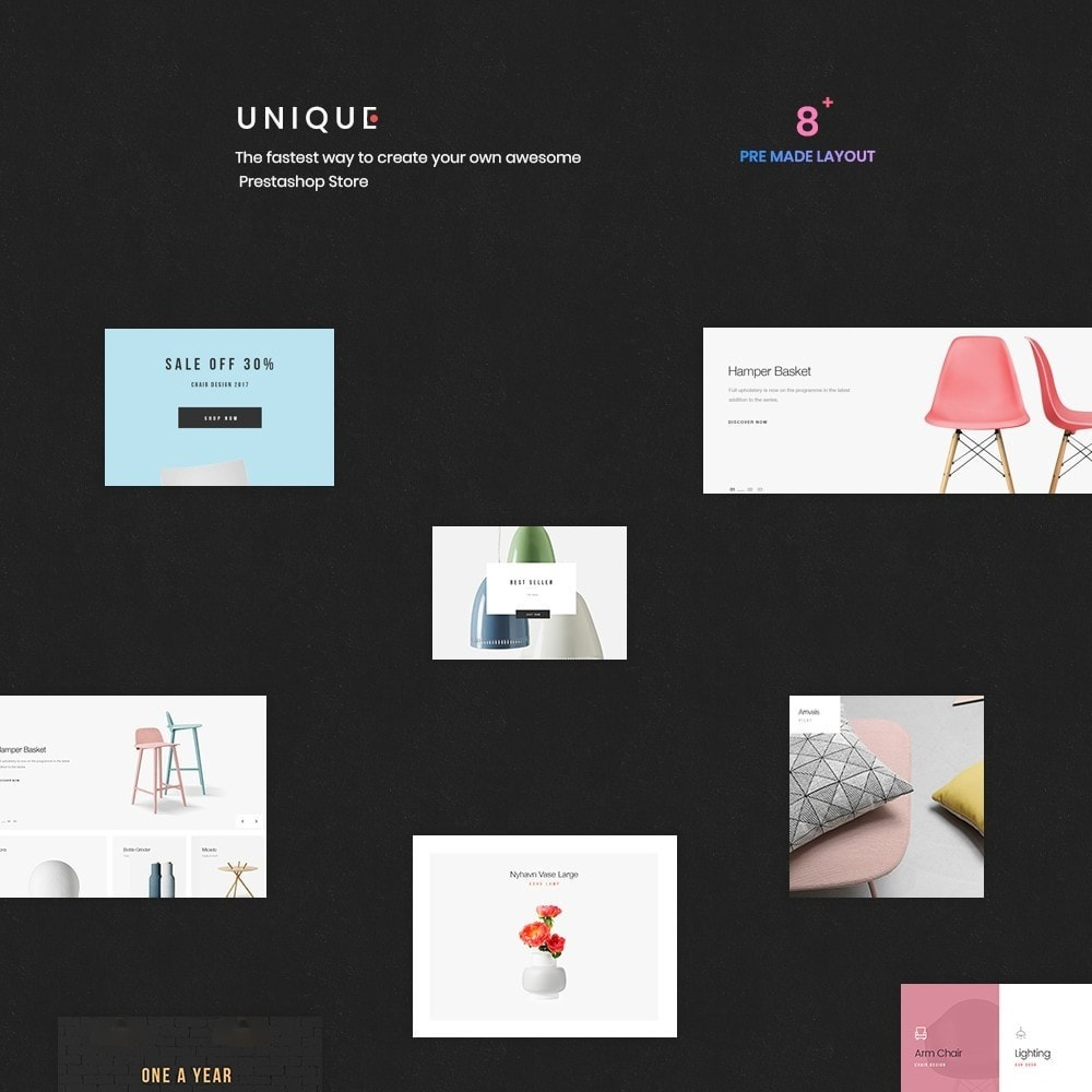 theme - Home & Garden - Unique Store Responsive Multiple Prestashop Theme - 1