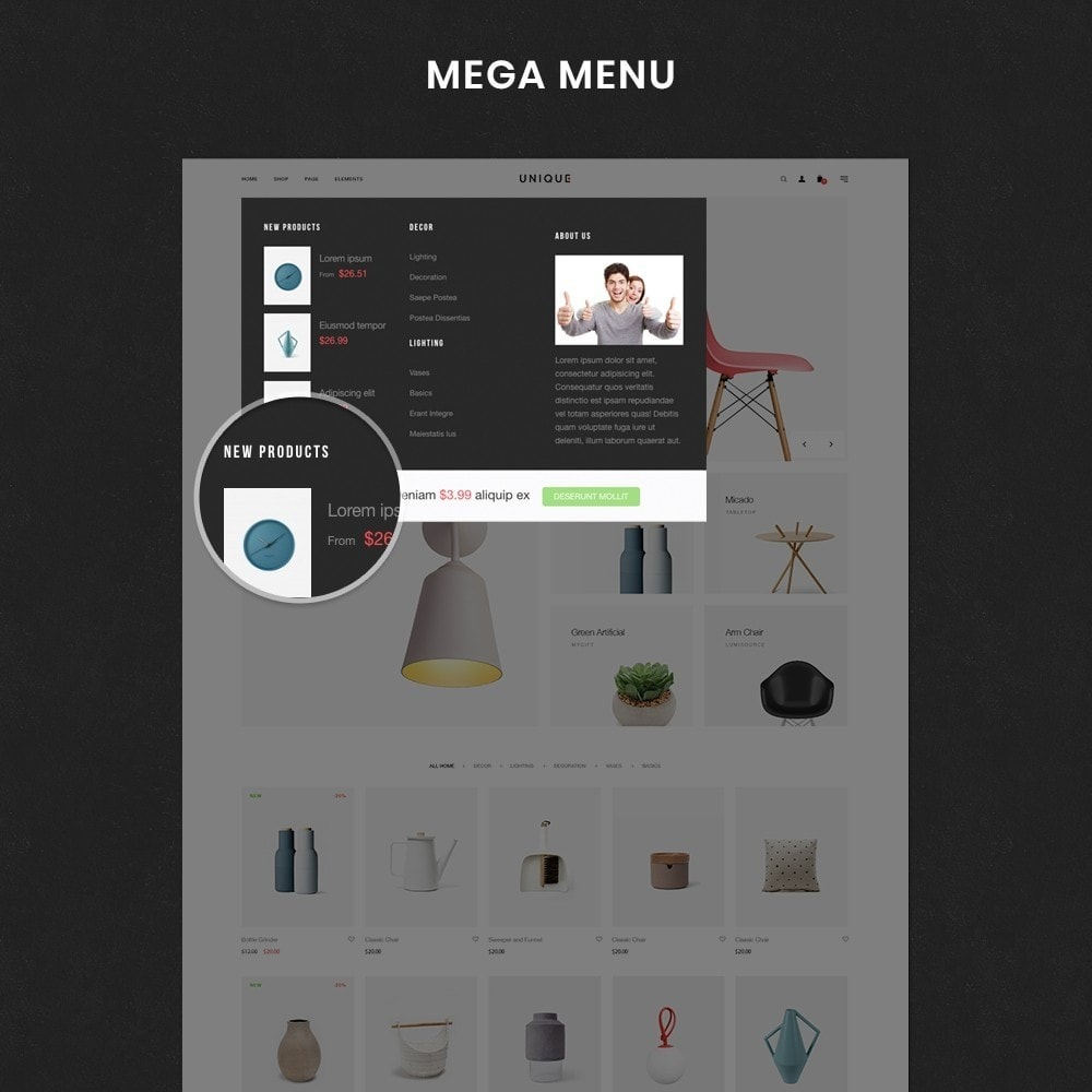 theme - Dom & Ogród - Unique Store Responsive Multiple Prestashop Theme - 6