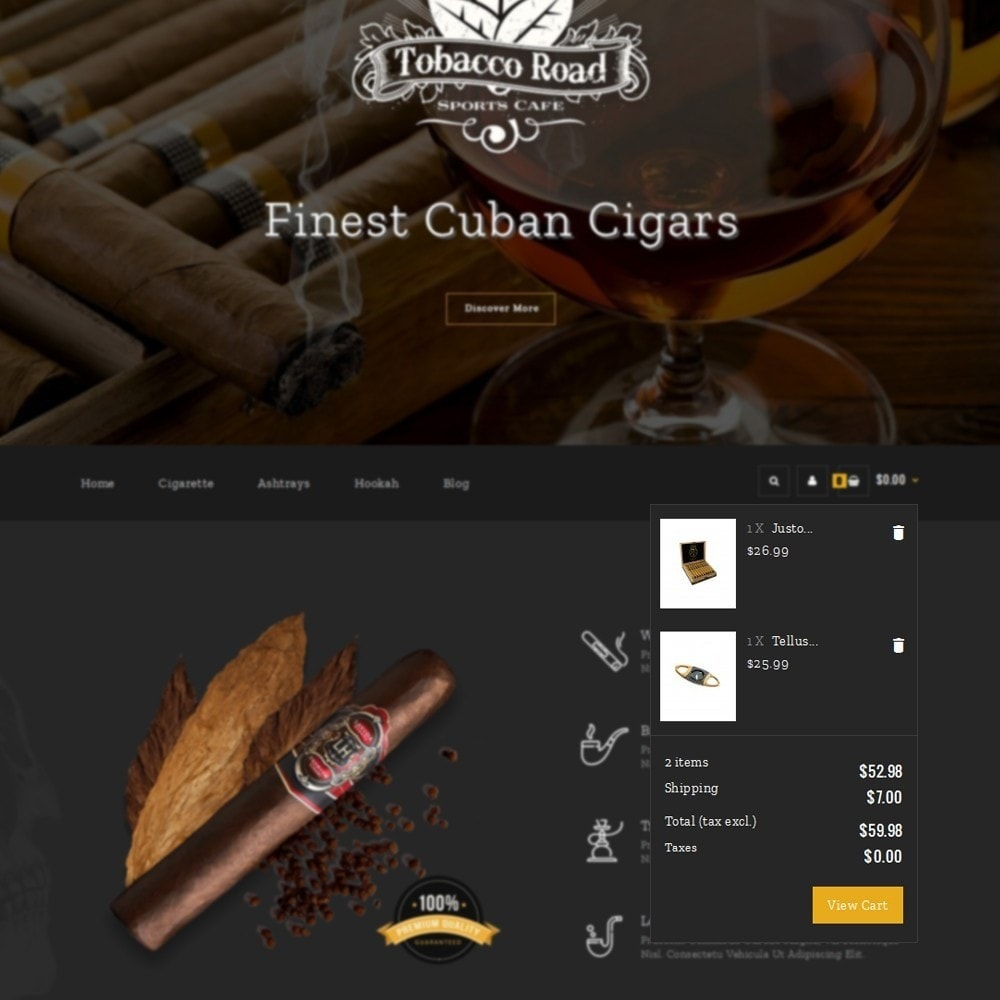 theme - Drink & Tobacco - TobaccoRoad Tobacco Shop - 6