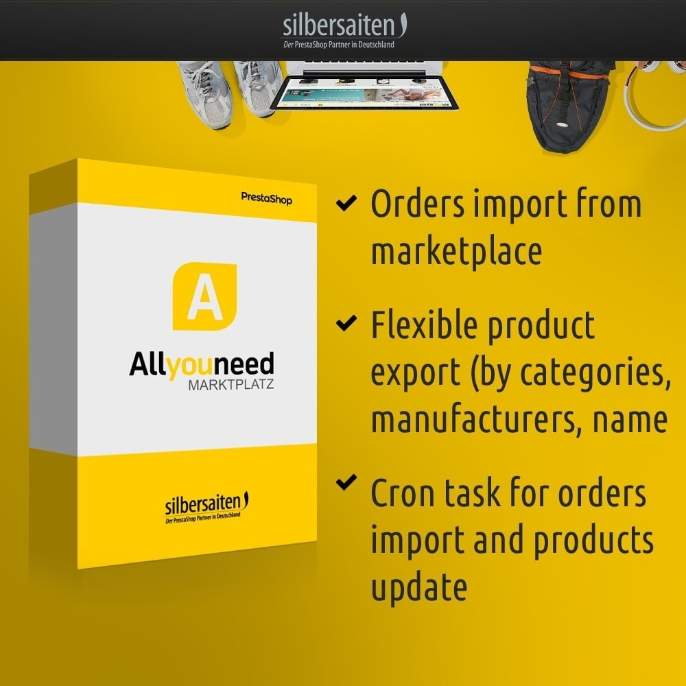 module - Marketplace - Allyouneed Connector to DHL Marketplace - 1