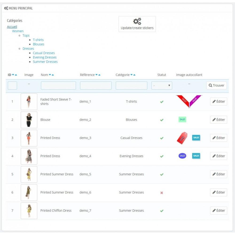 module - Etiquettes & Logos - Autocollants modifiés de Bobs - 2