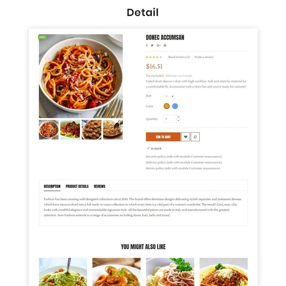 theme - Food & Restaurant - Ap Spaghetti - 5
